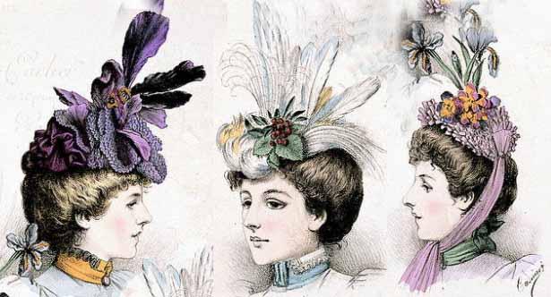 Hats - fin de siècle